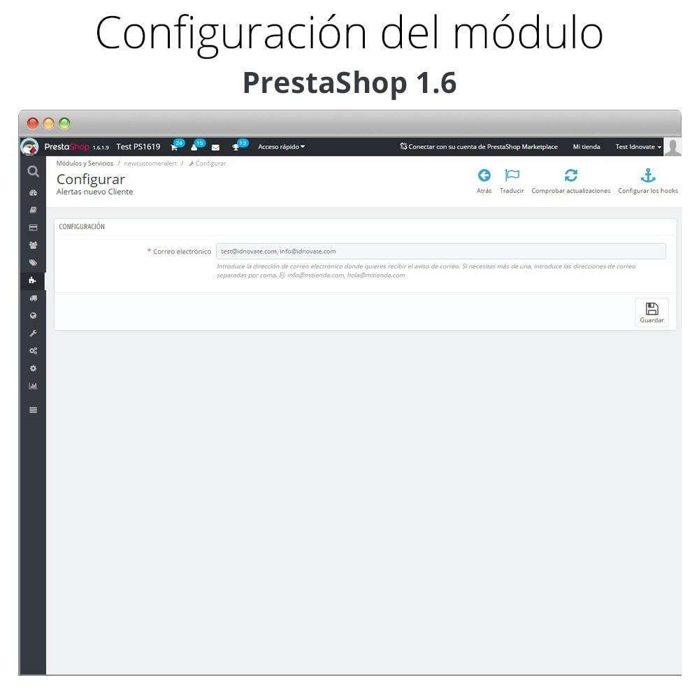 module - E-mails y Notificaciones - Recibe correo electrónico cuando un cliente se registra - 4