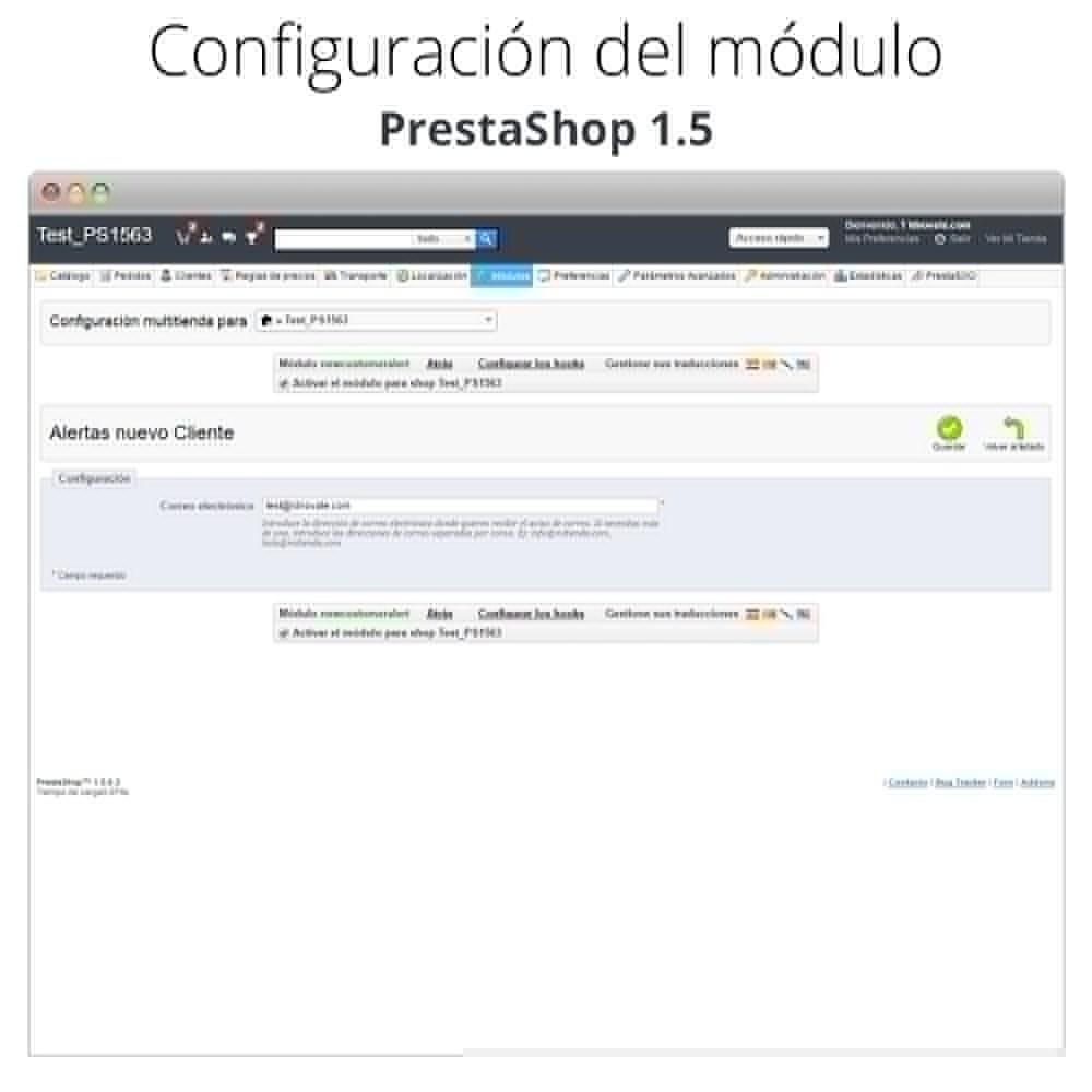 module - E-mails y Notificaciones - Recibe correo electrónico cuando un cliente se registra - 6