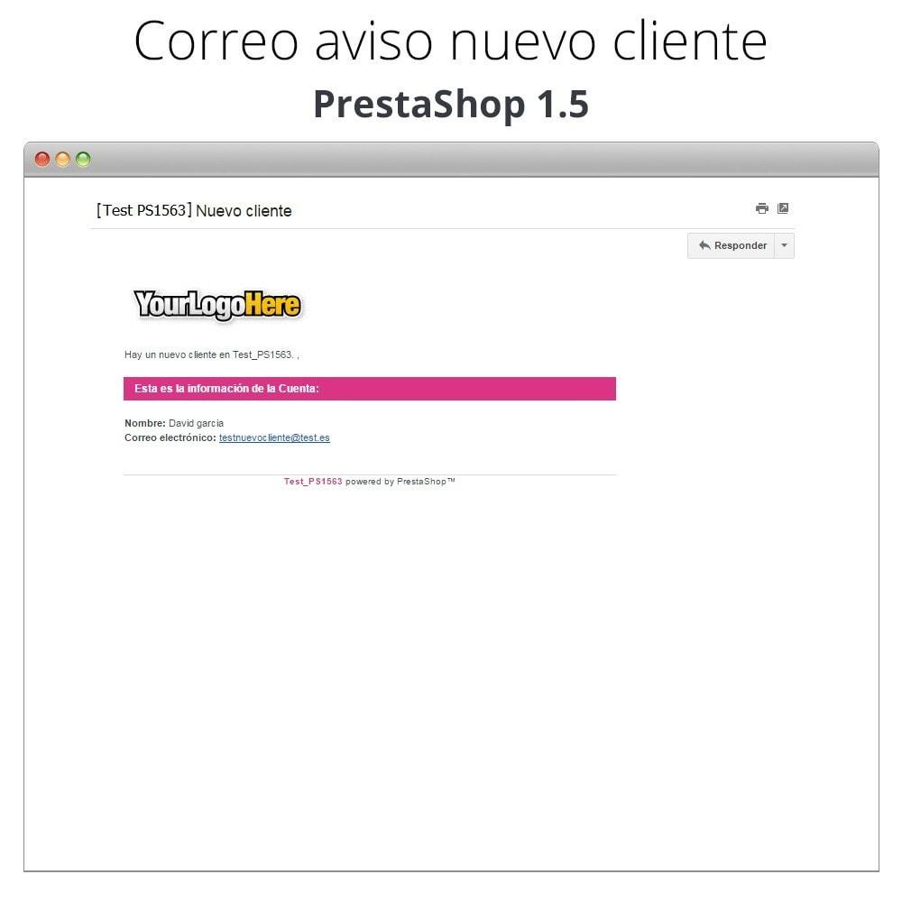 module - E-mails y Notificaciones - Recibe correo electrónico cuando un cliente se registra - 7