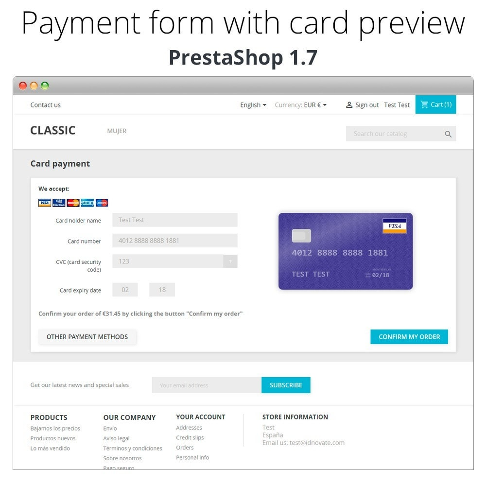 module - Kassasoftware (POS) - Manual Credit Card Processing - Offline payment - 8