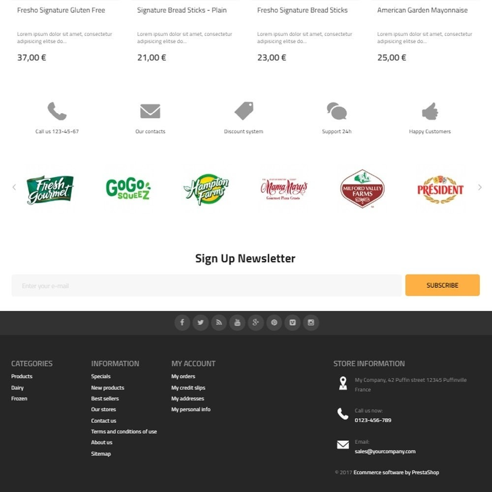 theme - Food & Restaurant - Best Food - Online Market - 4