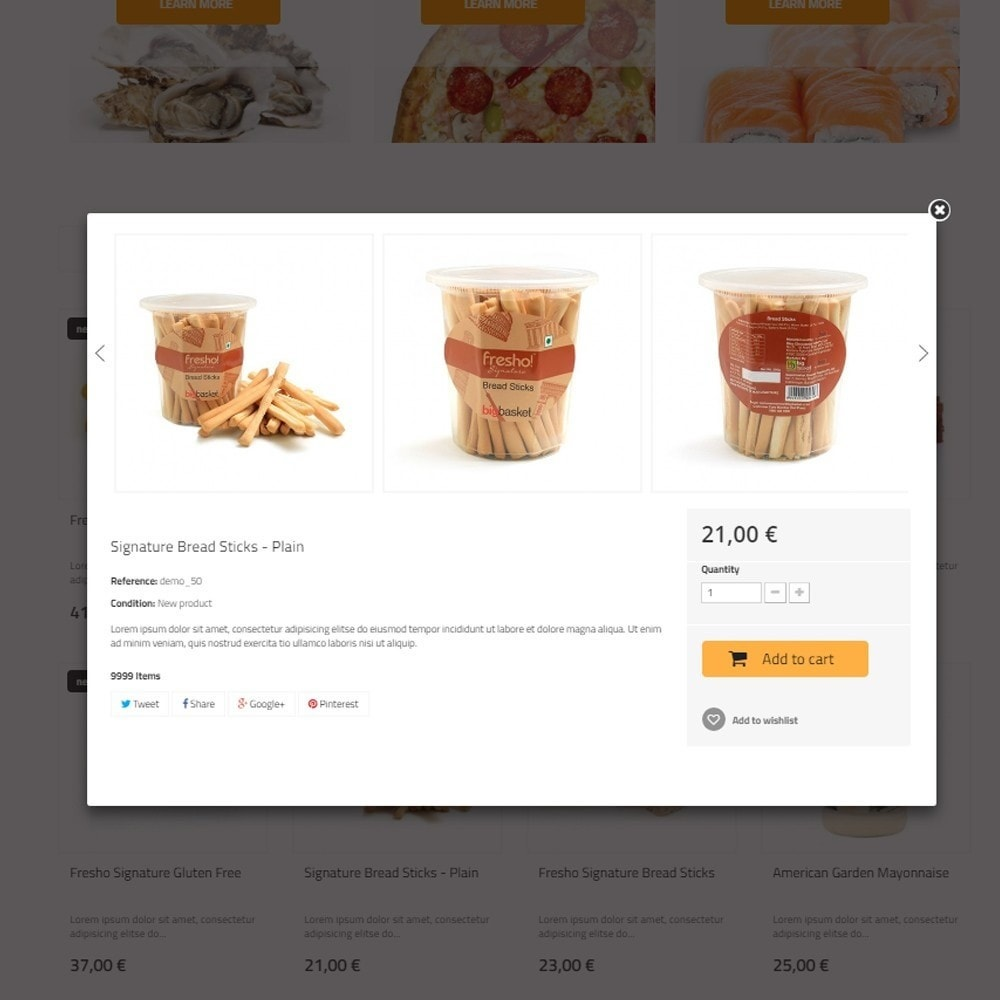 theme - Food & Restaurant - Best Food - Online Market - 5