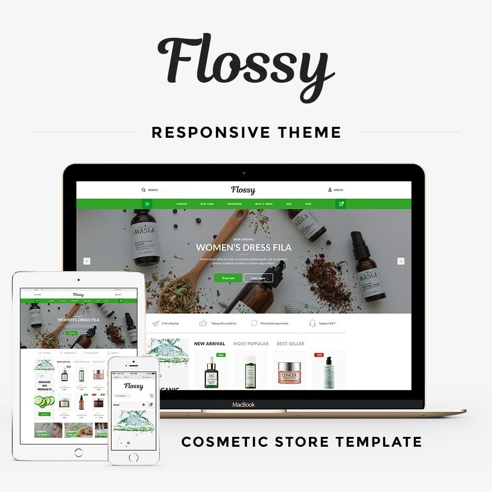 theme - Salute & Bellezza - Flossy Cosmetics - 1