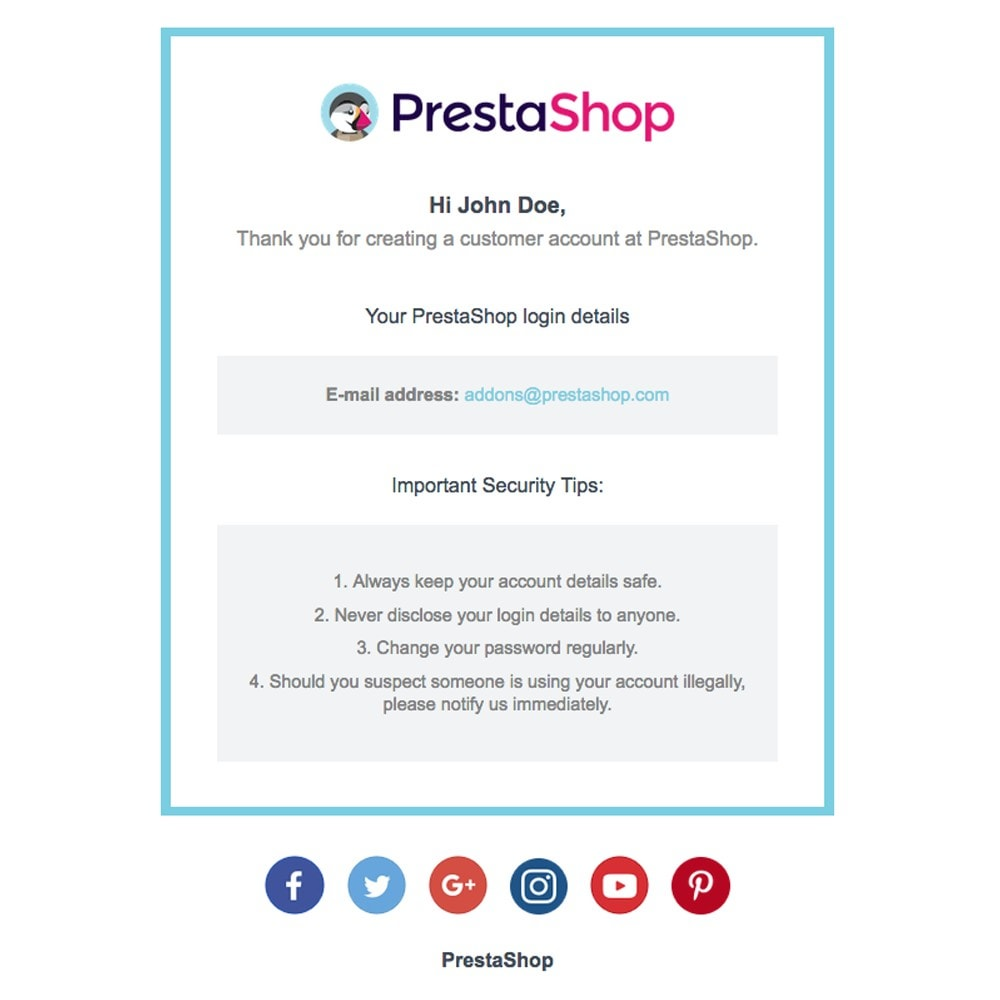email - Template di e-mail PrestaShop - Boxy - Template di e-mail by PrestaShop - 2