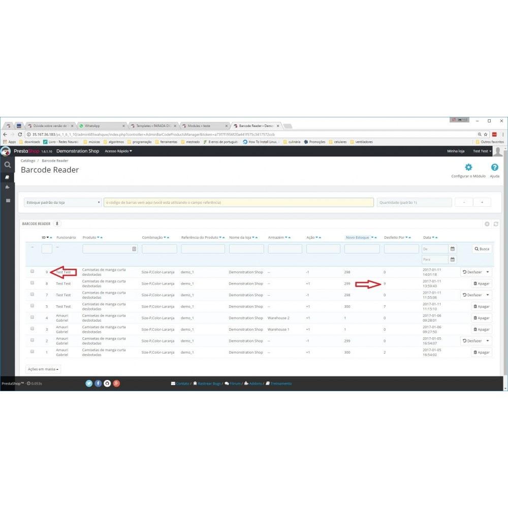 module - Estoques & Fornecedores - Gerenciador de Estoque por Código de Barras - 9