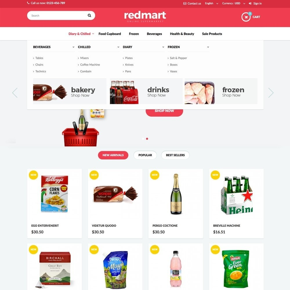 theme - Lebensmittel & Restaurants - REDMART - 3