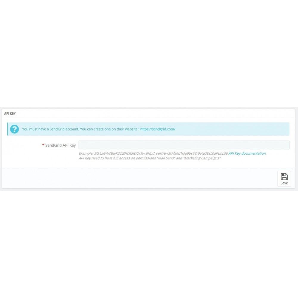 module - Рассылка новостей и SMS - SendGrid SendSync - 2