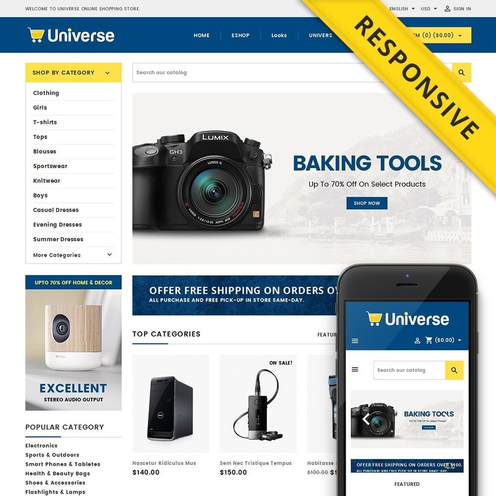 theme - Electronics & Computers - Universe Store - 1
