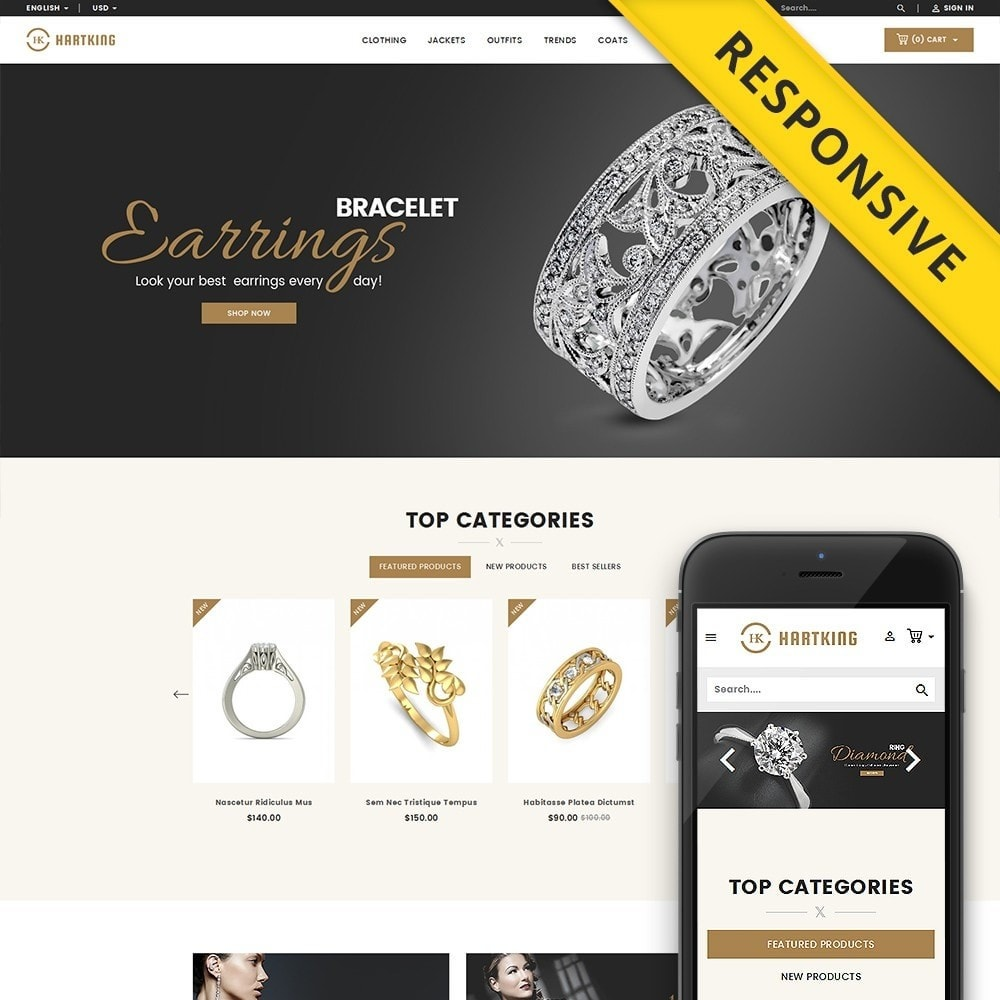 theme - Jewelry & Accessories - Hartking Jewelry Store - 1