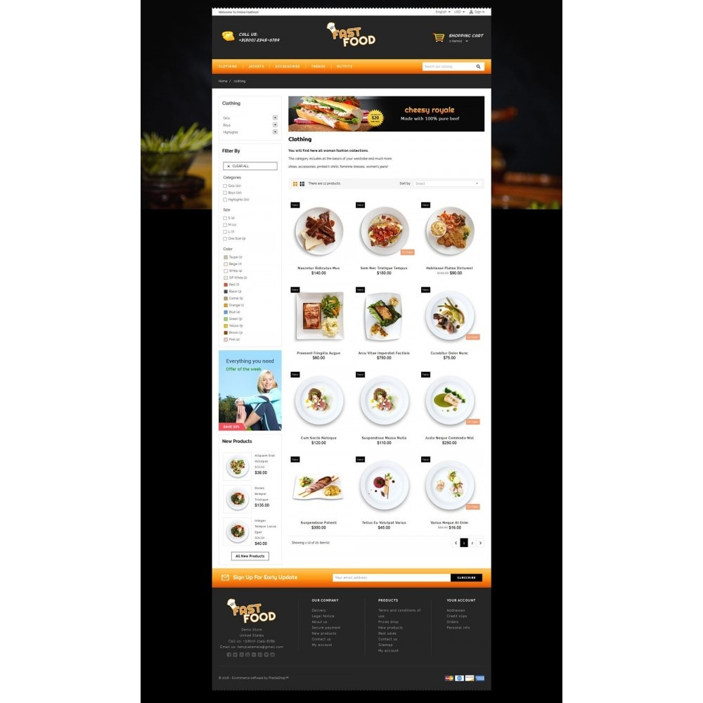 theme - Eten & Restaurant - Fast Food Restaurant Store - 3