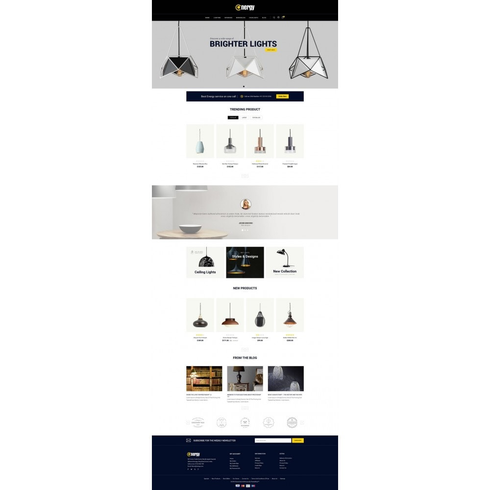 theme - Elettronica & High Tech - Energy lighting Store - 2