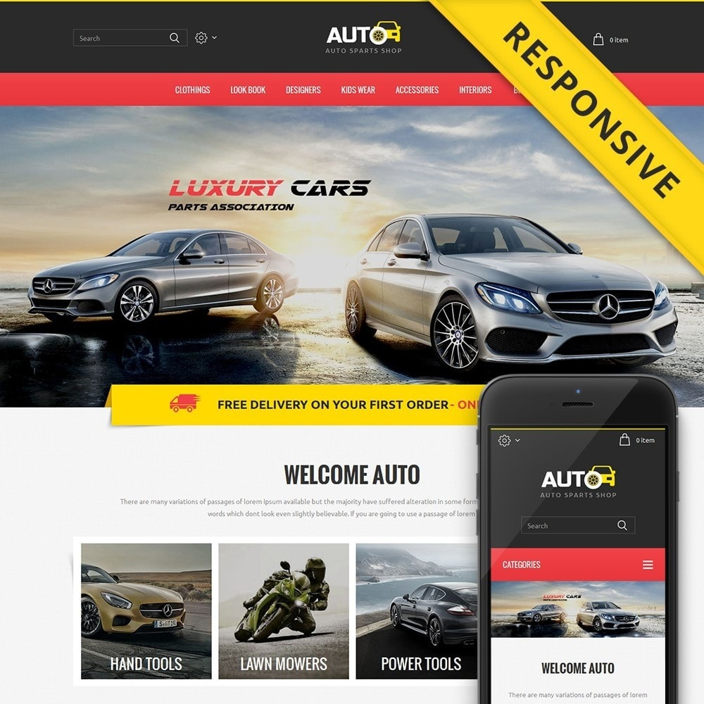 theme - Automotive & Cars - Auto Spare Parts Store - 1