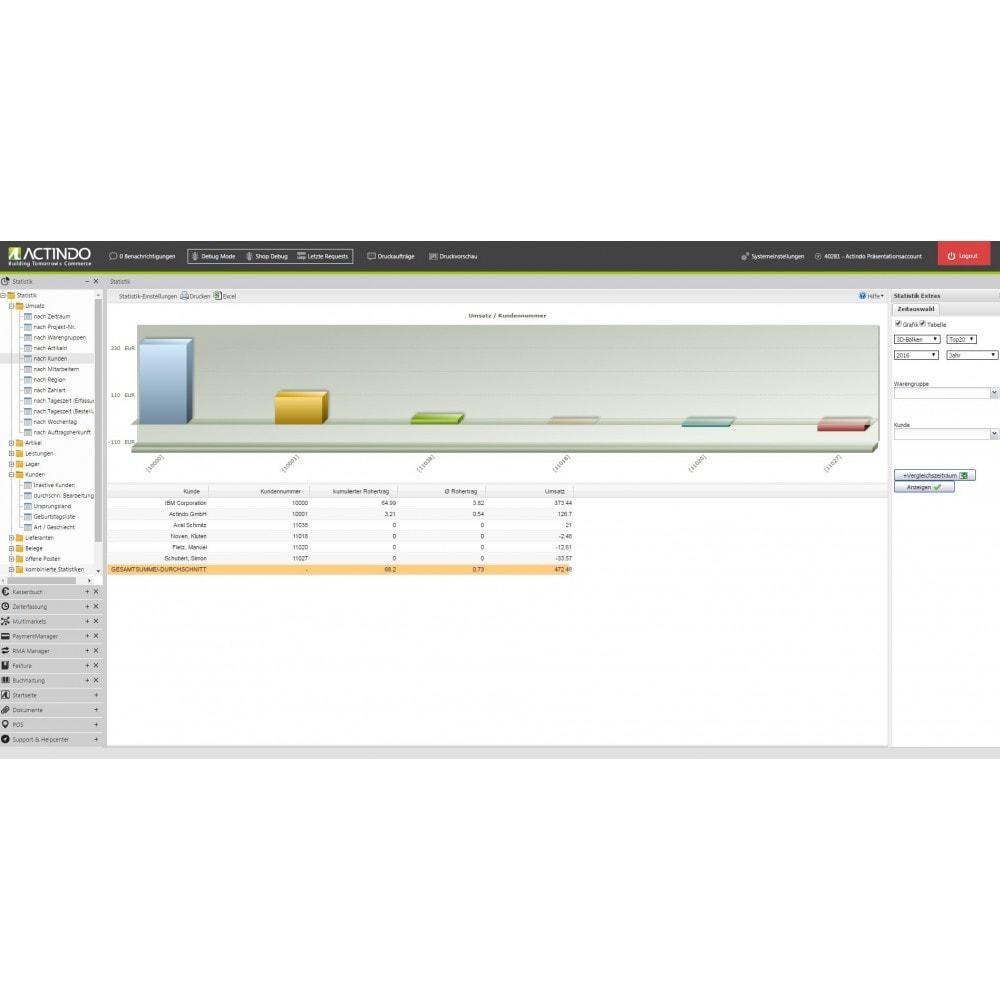 module - Datenabbindungen zu Drittsystemen (CRM, ERP, ...) - Actindo RetailSuite ERP Connector für PrestaShop - 3