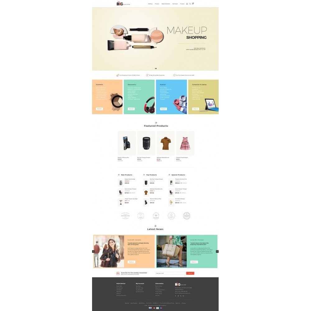theme - Mode & Schoenen - Big Online Store - 2