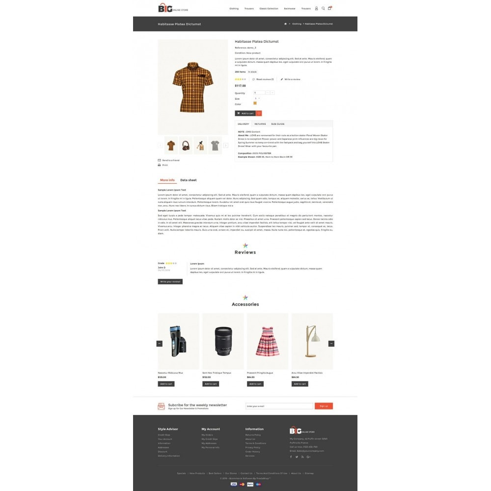 theme - Mode & Schoenen - Big Online Store - 5
