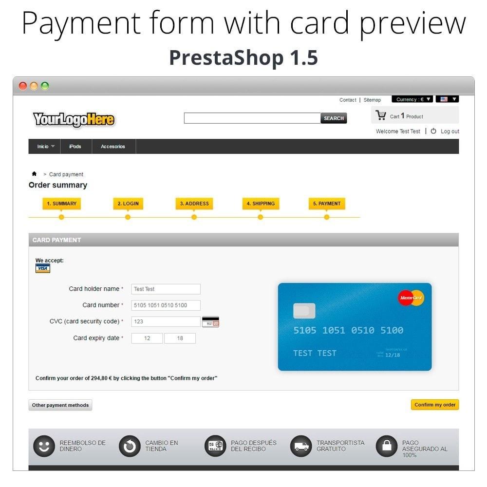 module - Logiciel de caisse (POS) - Paiement offline/manuel avec une carte de crédit/débit - 26