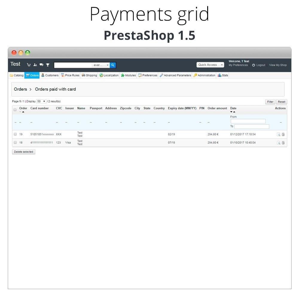 module - Logiciel de caisse (POS) - Paiement offline/manuel avec une carte de crédit/débit - 28