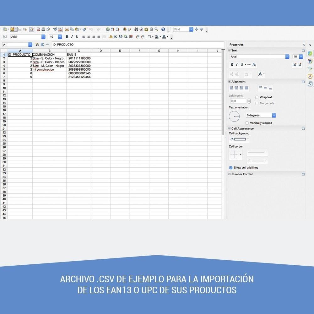 module - Preparación y Envíos - Etiquetas para productos EAN13 UPC - 3