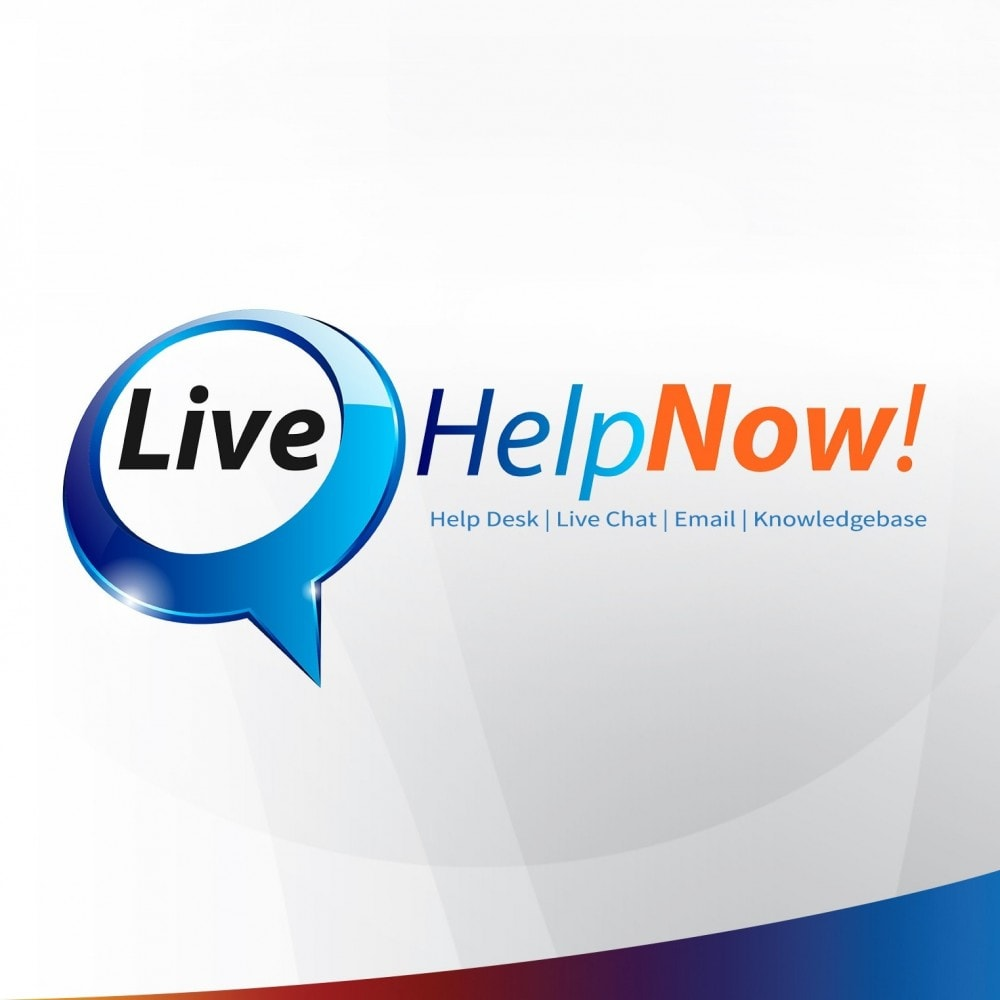 module - Suporte & Chat on-line - LiveHelpNow Help Desk and Live Chat Integration - 1