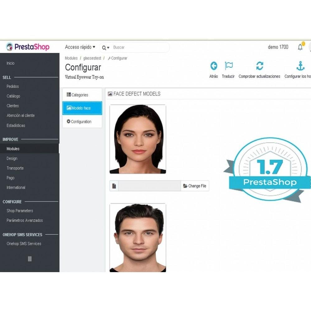module - Productos Digitales (de descarga) - Probador virtual de anteojos on-line - 3