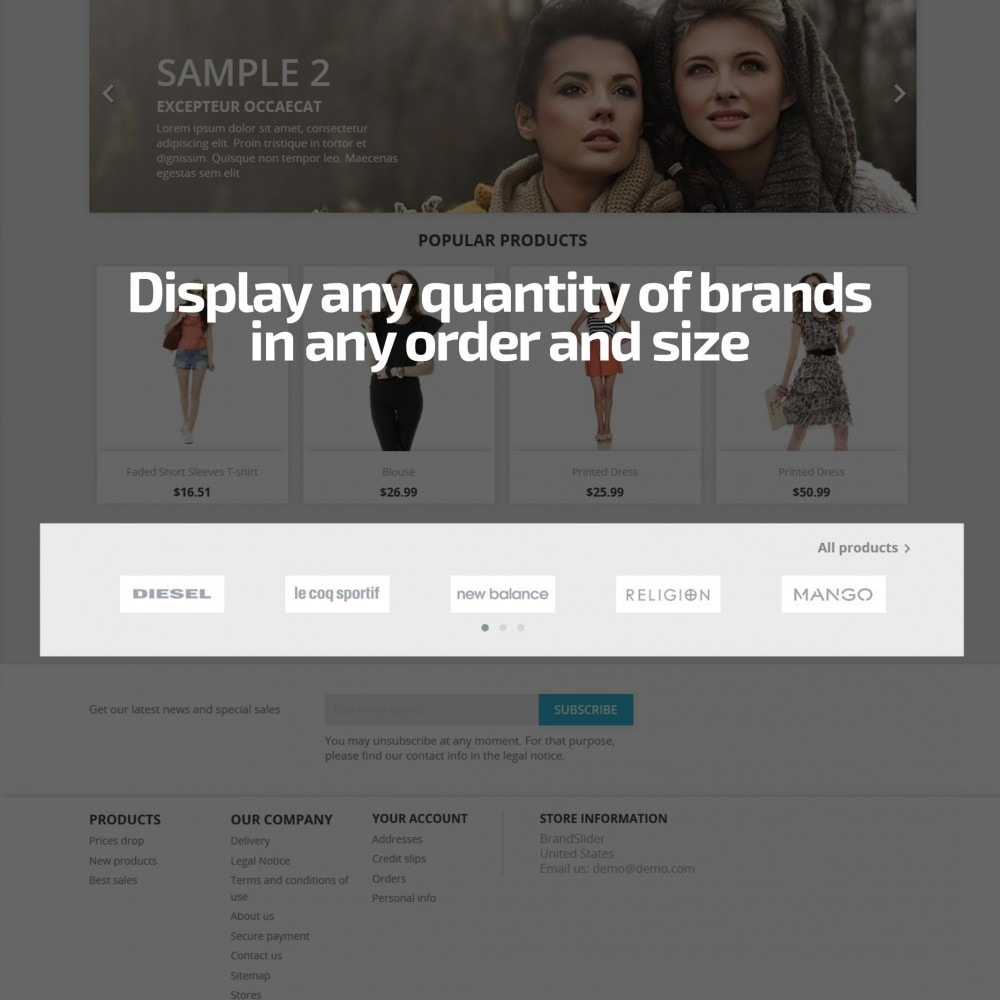 module - Sliders & Galleries - AN Brand Slider: partners, manufacturers logo carousel - 3