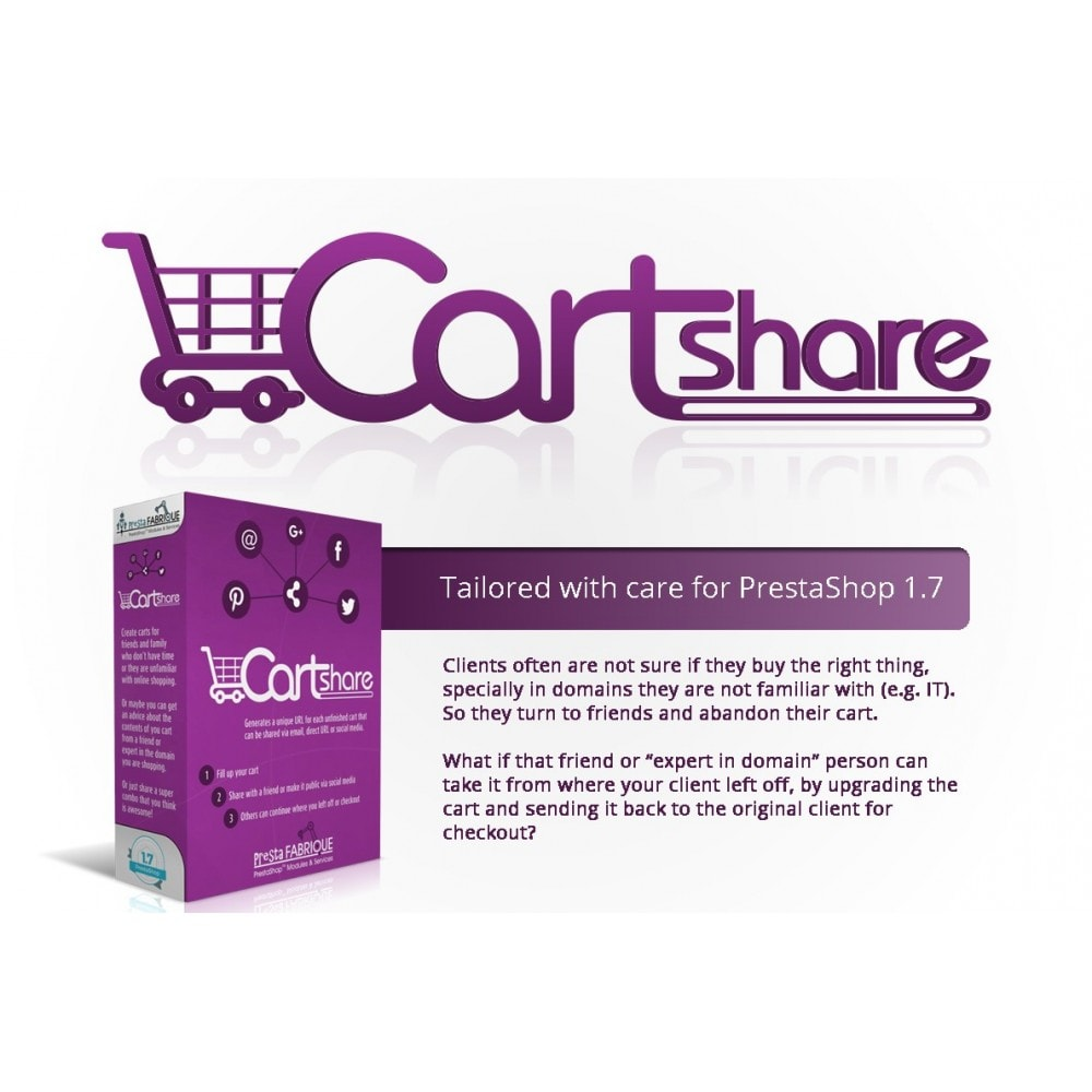 module - Share Buttons & Comments - Cart Share - 1