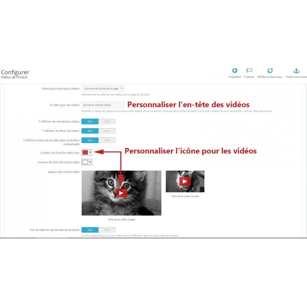 module - Vidéo & Musique - Ultimes vidéos de produits (YouTube, Vimeo, et plus) - 8