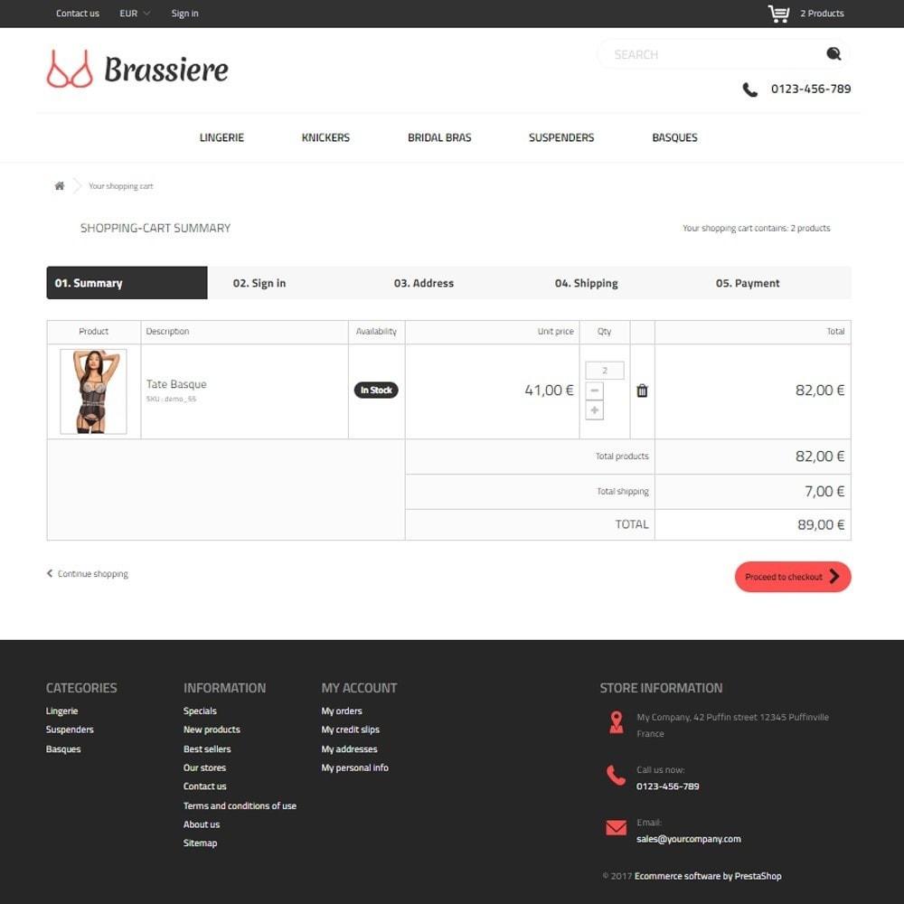 theme - Lingerie & Volwassenen - Brassiere SexShop - 5