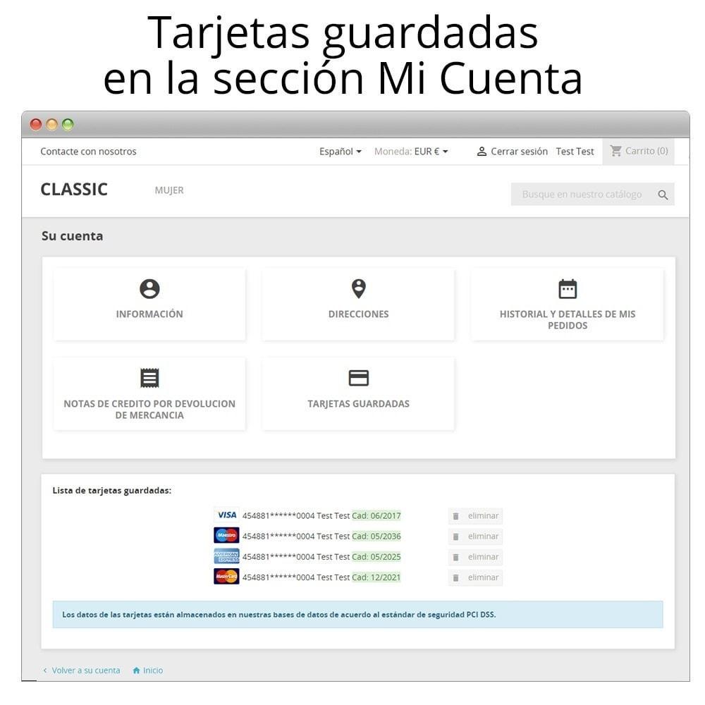 module - Pago con Tarjeta o Carteras digitales - Redsys pago integrado tarjeta y gestión de devoluciones - 13