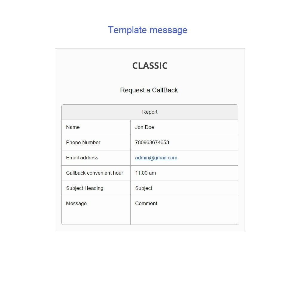 module - Support & Online-Chat - Request a Call Back - 10