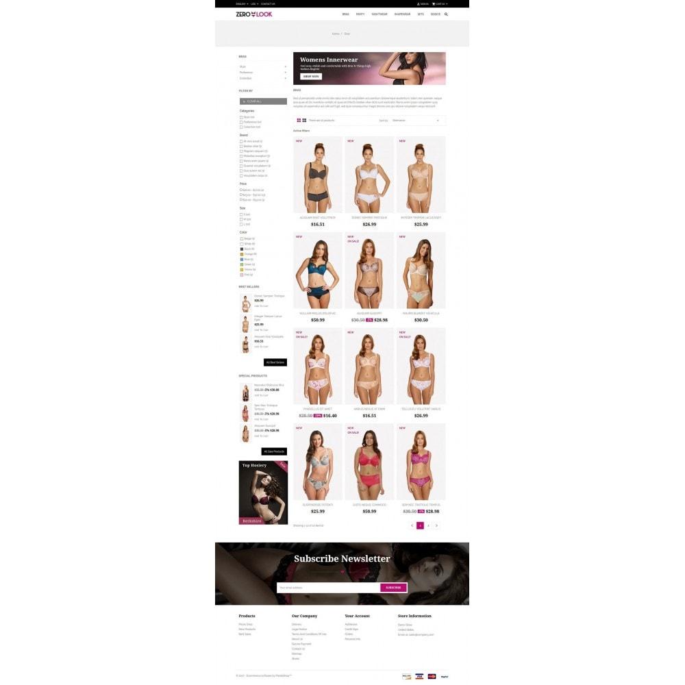theme - Lingerie & Adulte - Zero Look online Store - 3