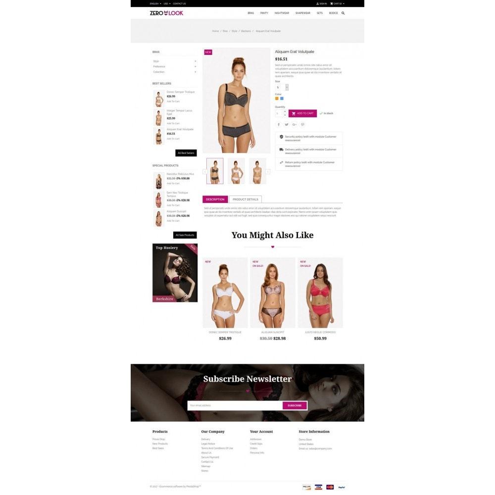 theme - Lingerie & Adulte - Zero Look online Store - 5