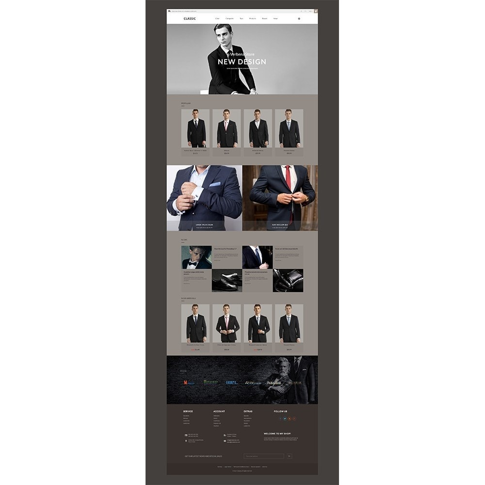 theme - Mode & Schoenen - Verbena Suit Store - 4