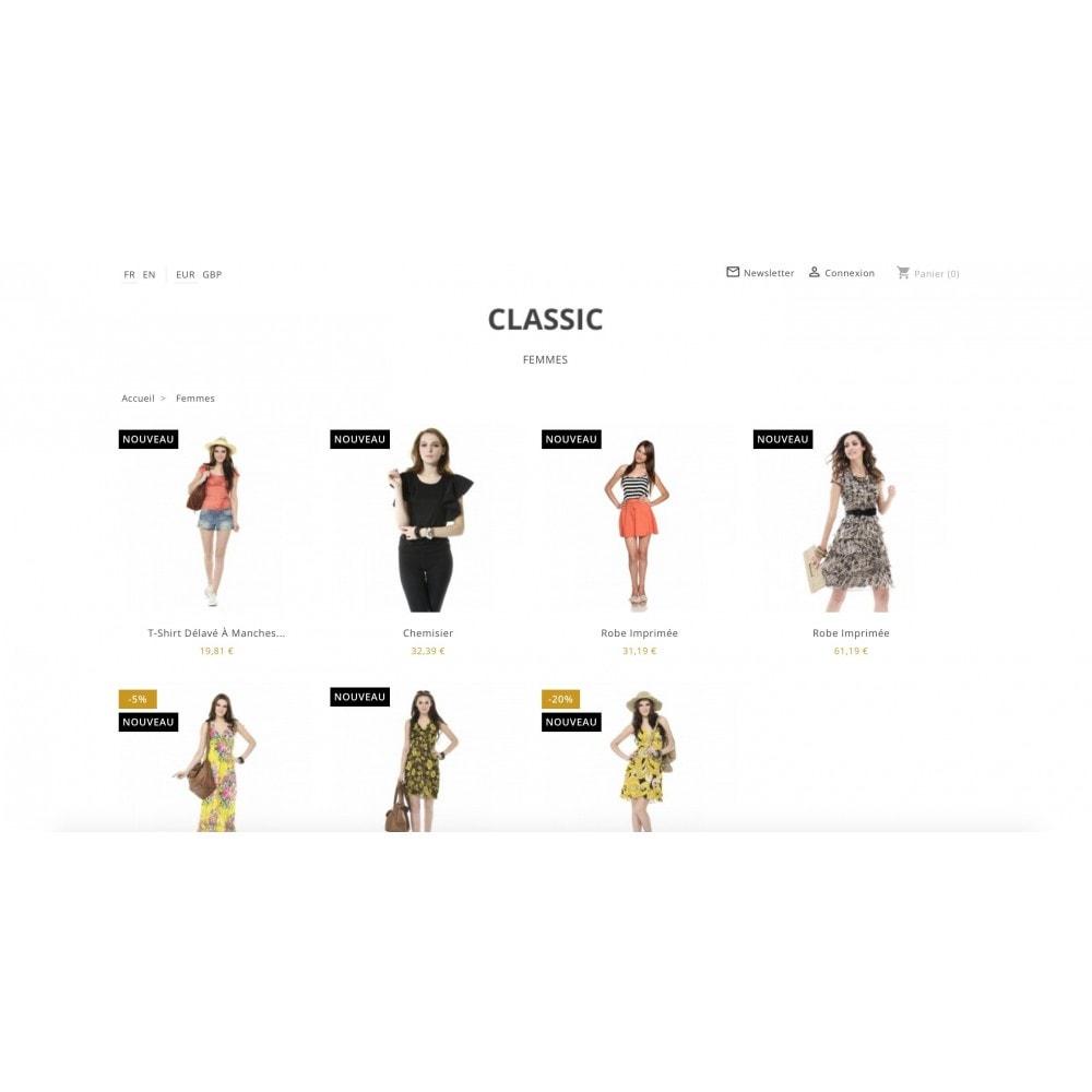 theme - Mode & Chaussures - Epuré et moderne - 7