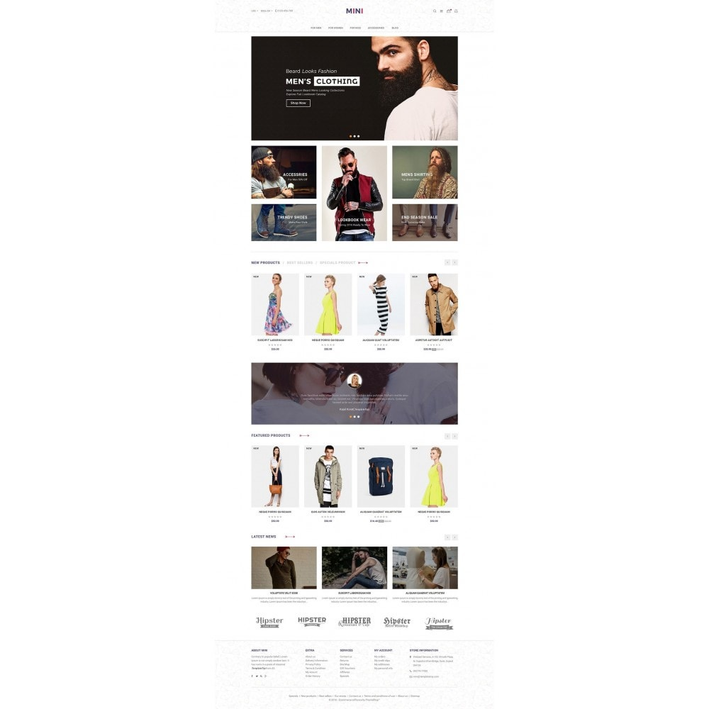 theme - Moda & Obuwie - Minimal Fashion - 2