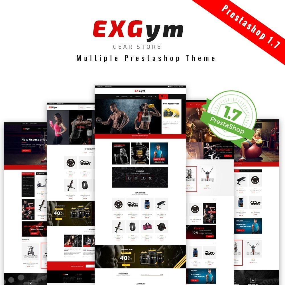 theme - Sports, Activities & Travel - Leo Exgym - 1