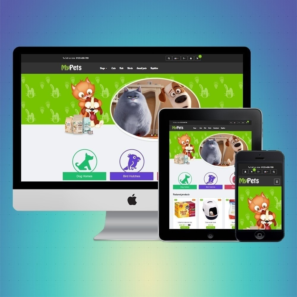 theme - Animals & Pets - VP_MyPets Store - 1