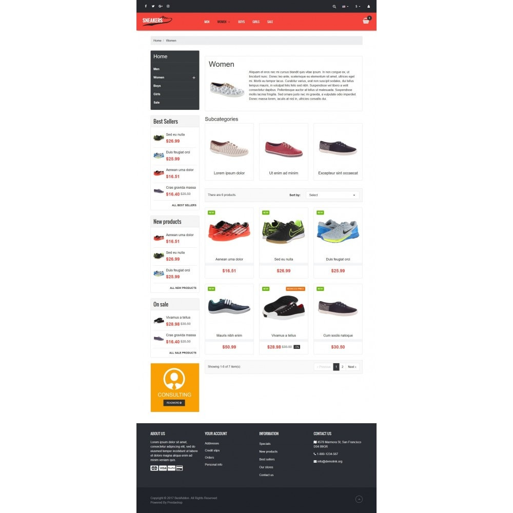 theme - Mode & Schuhe - VP_Sneakers - Page Builder - 3
