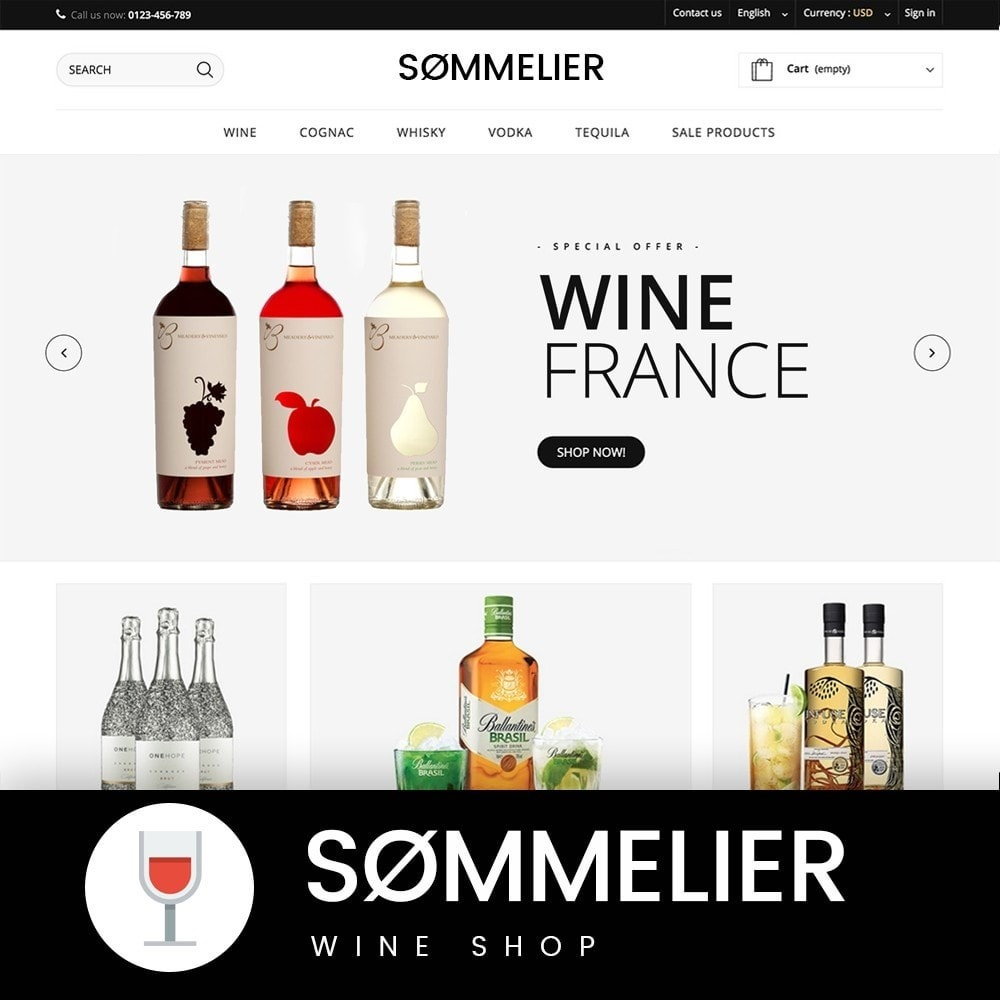 theme - Boissons & Tabac - SOMMELIER - 1