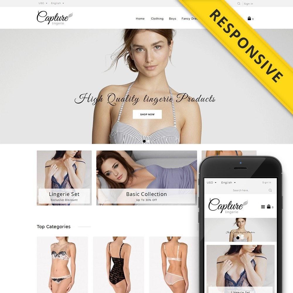 theme - Lingerie & Adulti - Capture Lingerie Online Store - 1