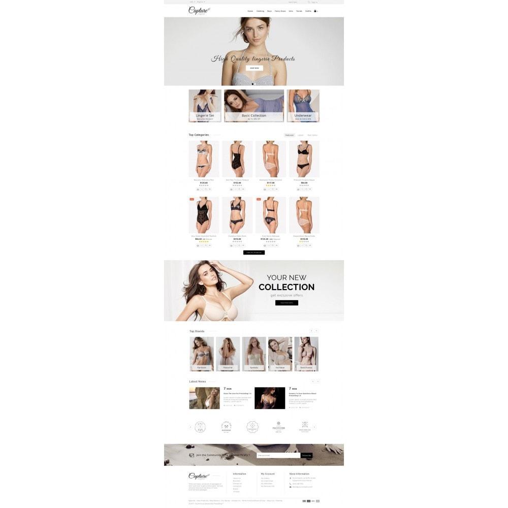 theme - Lingerie & Adultos - Capture Lingerie Online Store - 2