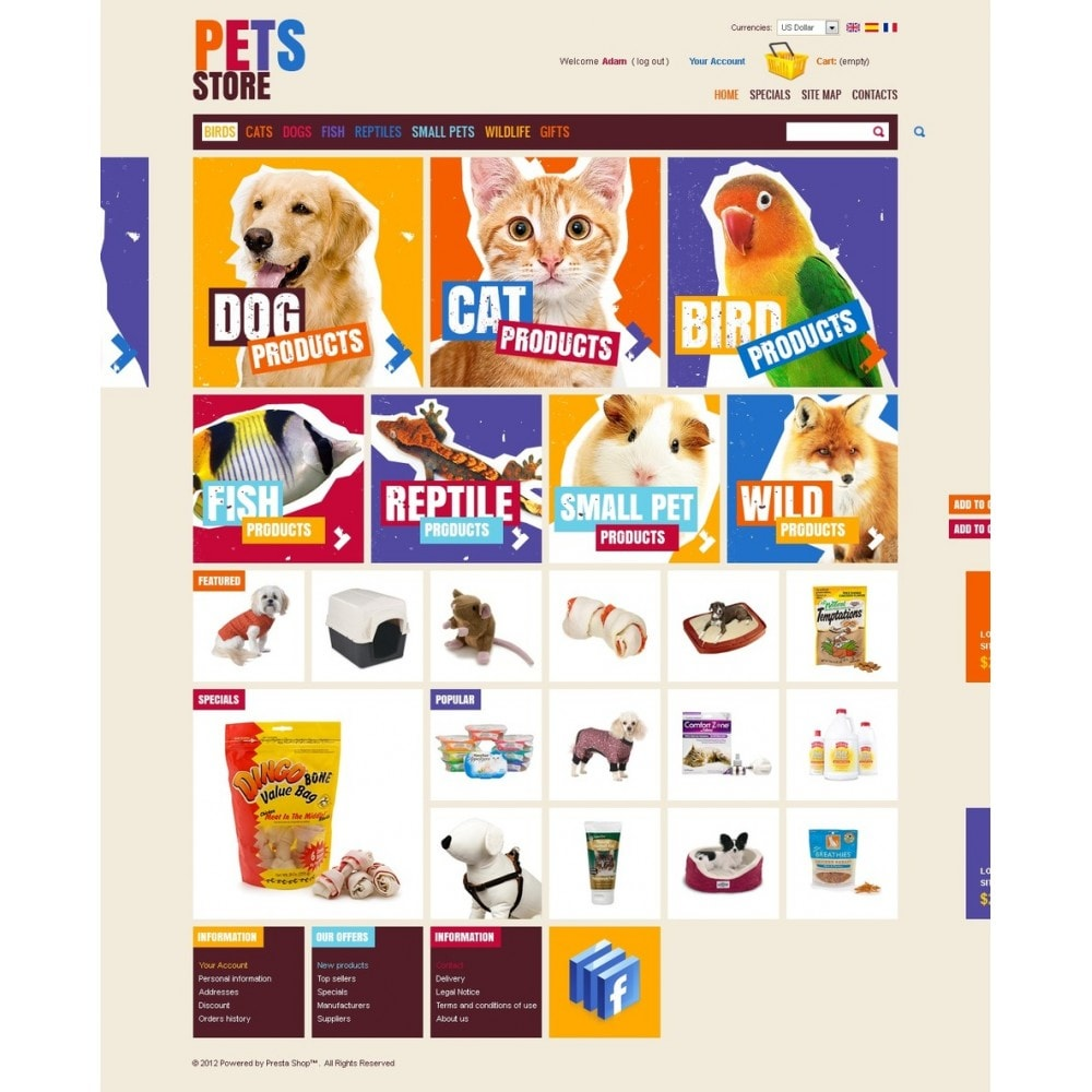 theme - Zwierzęta - Cute Pets Products - 4