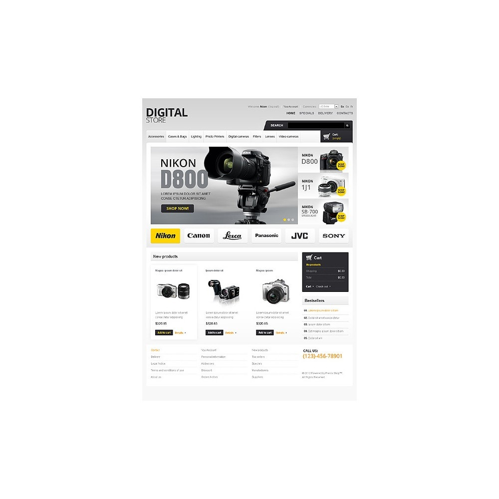 theme - Elettronica & High Tech - Digital Cameras - 1