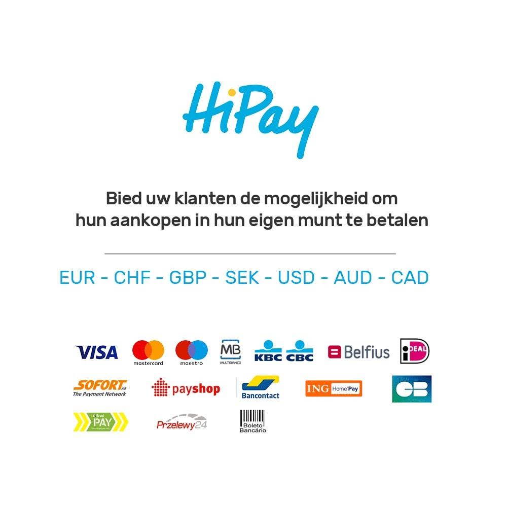 module - Creditcardbetaling of Walletbetaling - HiPay - 8