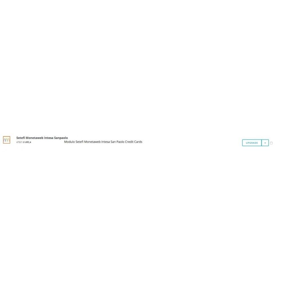 module - Pagamento con Carta di Credito o Wallet - Carte di Credito Intesa Sanpaolo Setefi Monetaweb - 3