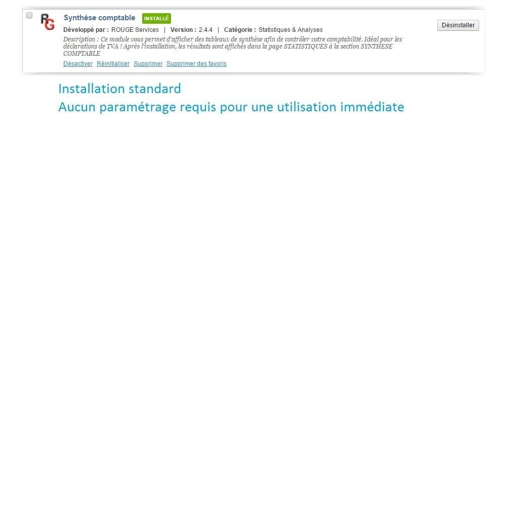 module - Comptabilité & Facturation - Synthèse comptable avec TVA - 3