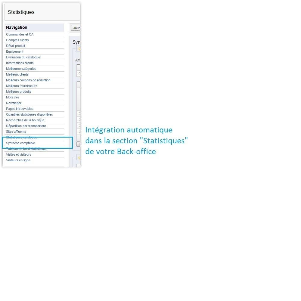 module - Comptabilité & Facturation - Synthèse comptable avec TVA - 4