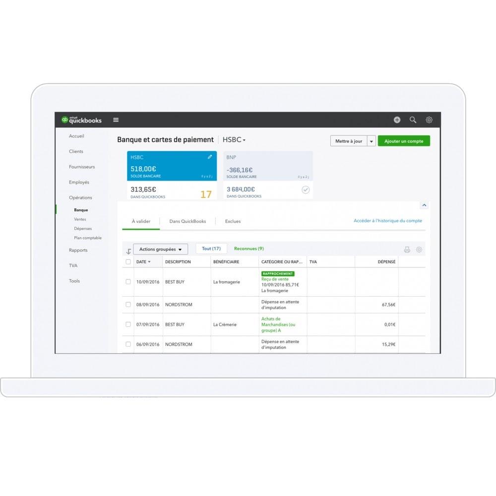 module - Comptabilité & Facturation - QuickBooks- La solution de gestion n°1 mondiale pour les entrepreneurs et leur expert-comptable - 2