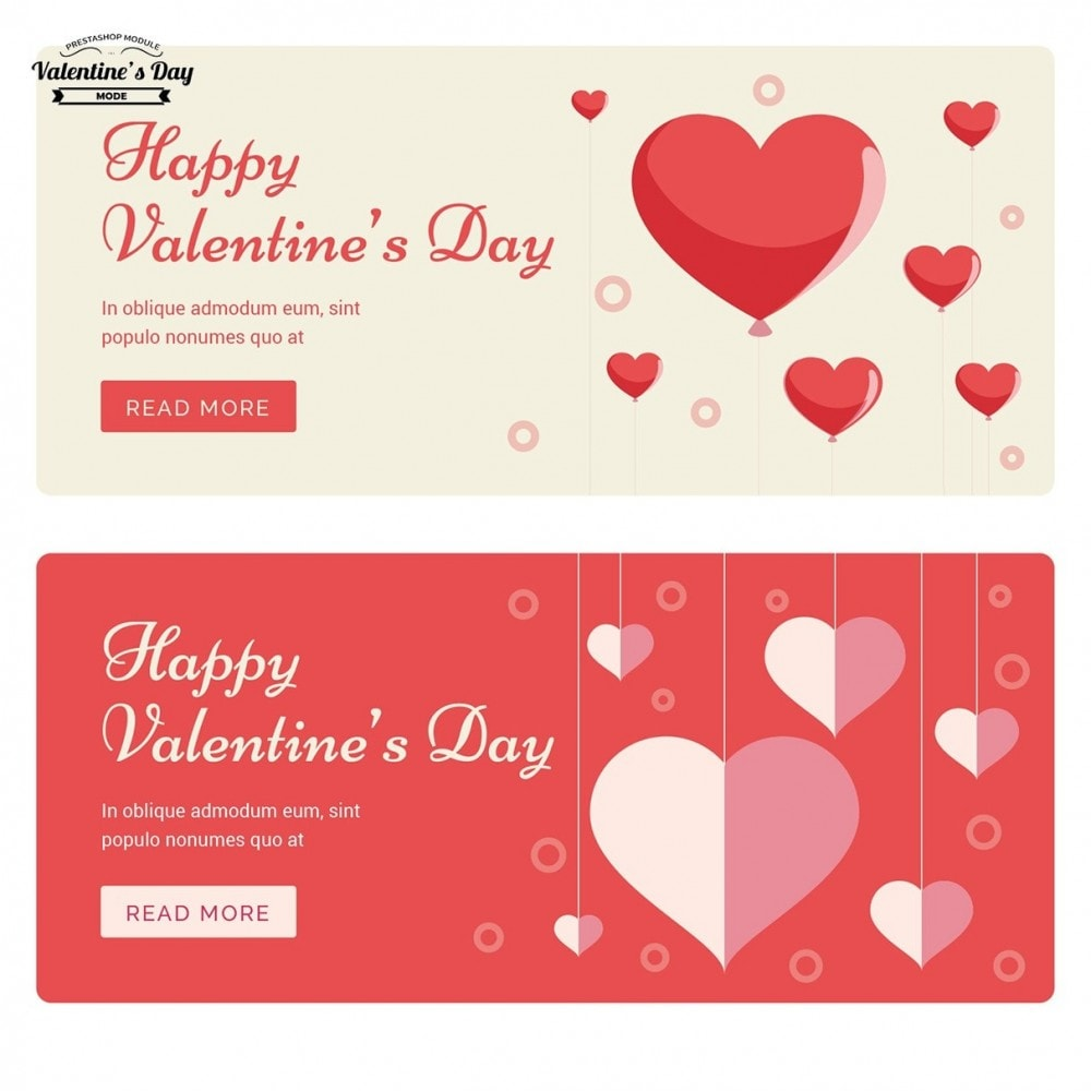 module - Slider & Gallerie - Valentines Day Mode with Graphics included - 29
