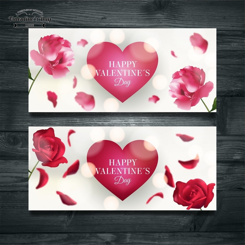 module - Slider & Gallerie - Valentines Day Mode with Graphics included - 30